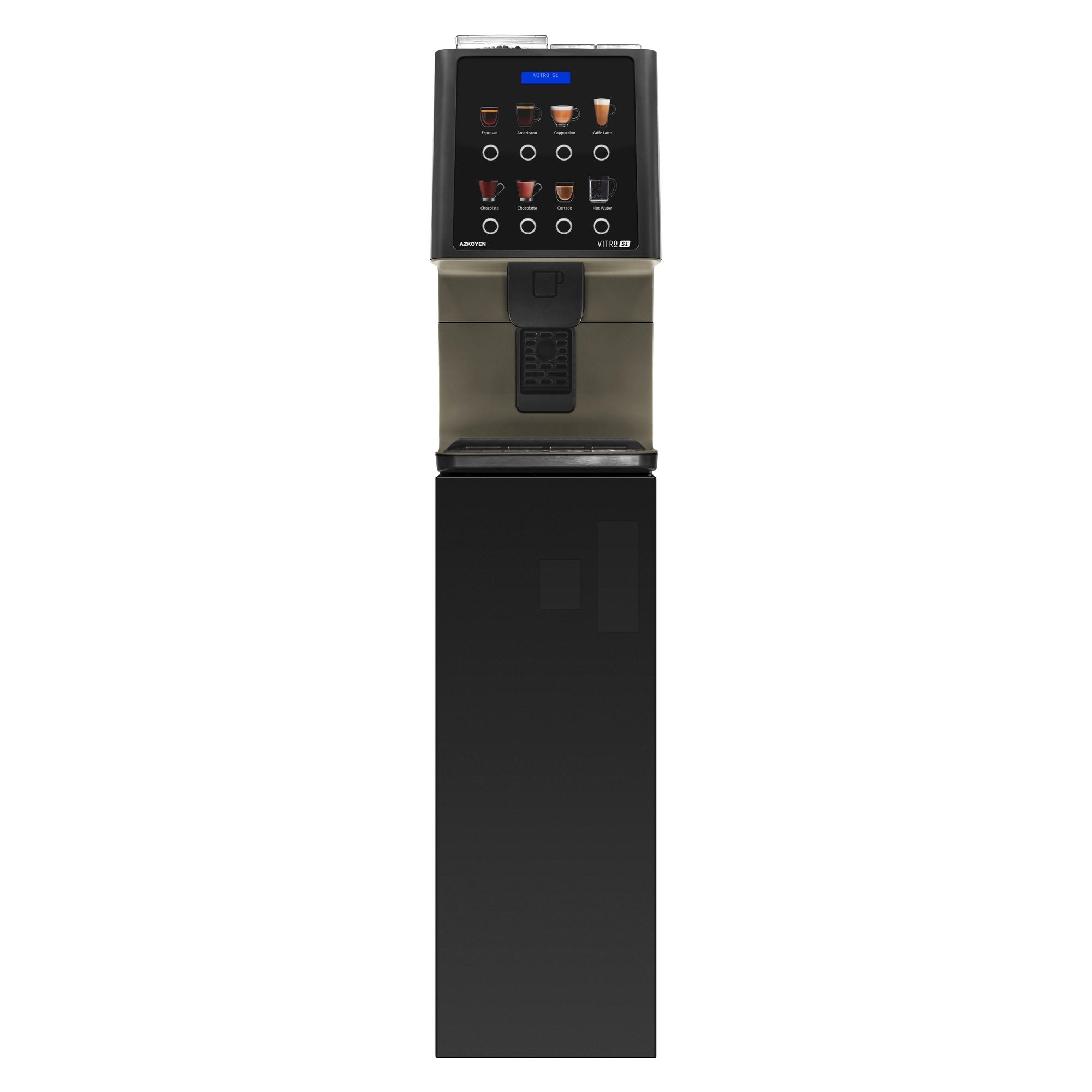 Coffeetek Vitro S1 Bean to Cup Coffee Machine on Base Cabinet
