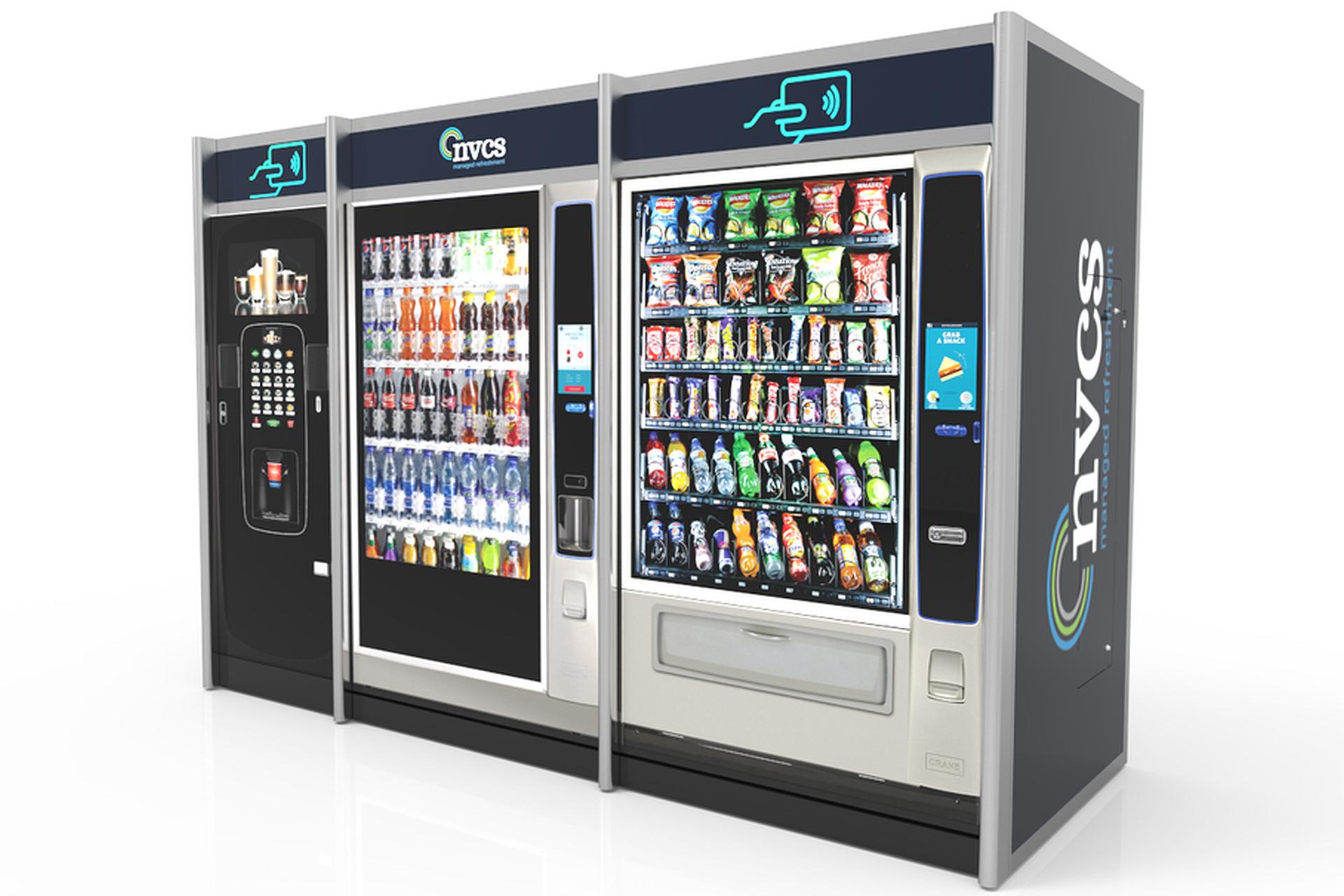 bespoke vending machine housing